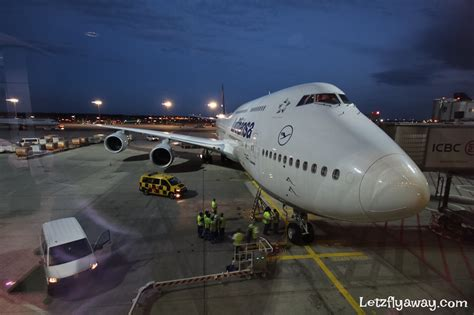 Lufthansa Business Class Boeing 747-8 Upper Deck Flight ...