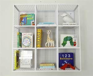 Cb wire cube wall shelf http decor
