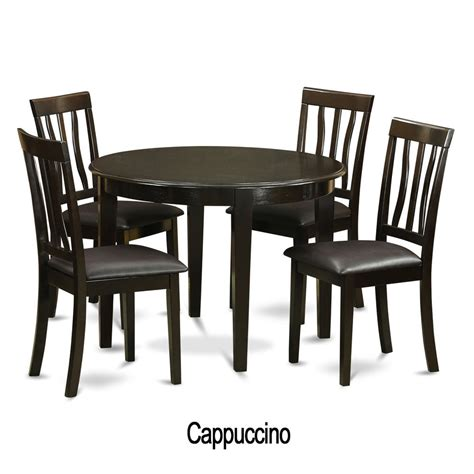 table and l in one 5 piece small kitchen table and 4 kitchen chairs ebay