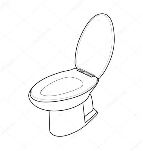 toilet with 백색 변기 스톡 벡터 theerapolsriin 108185522