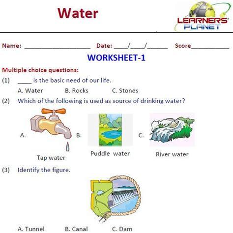 ntyj bhth alsor aan sources  water worksheets