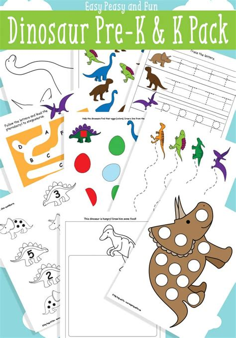 dinosaur printables for preschool easy peasy and