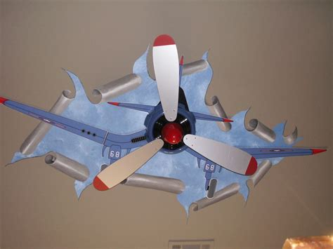 Airplane Propeller Ceiling Fan Electric Fans by Michael Lindas Creative Artist