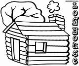 Log Coloring Pages Colorings sketch template