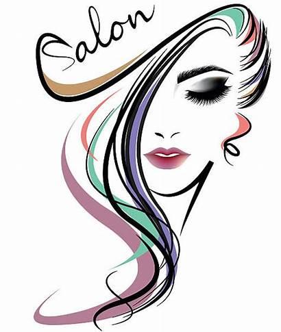 Hair Salon Vector Illustrations Clip Face Background