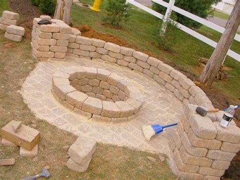 Feuerstelle Aus Granitsteinen Selber Bauen  Nowaday Garden