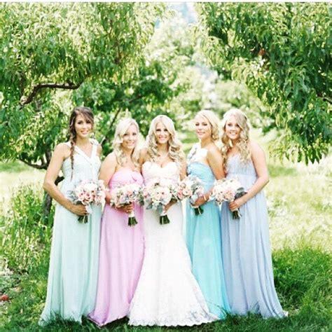 Madrinhas de Candy Colors Madrinhas de Casamento