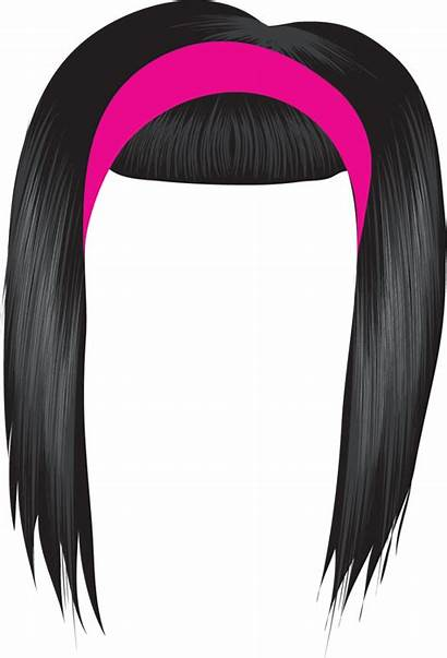 Hair Clip Clipart Wig Afro Transparent Cliparts