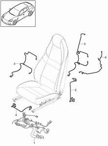 Porsche Panamera Wiring Harness Standard Seat Memory