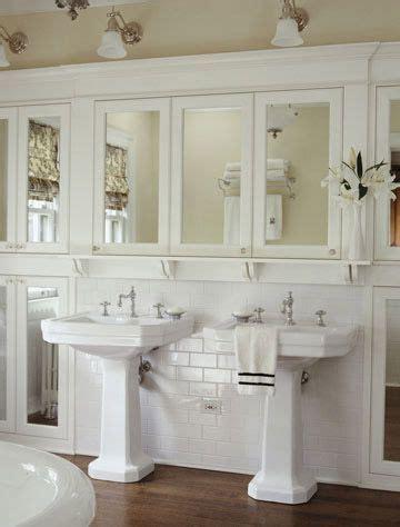 pedestal sink with built in backsplash pedestal sink cottage bath and sinks on pinterest