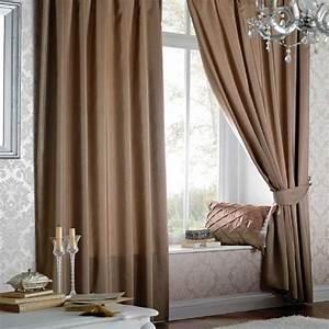 Vorhänge Mit ösen : vorh nge mit sen aus kunstseide milchkaffee 117 x 183 cm ~ Sanjose-hotels-ca.com Haus und Dekorationen