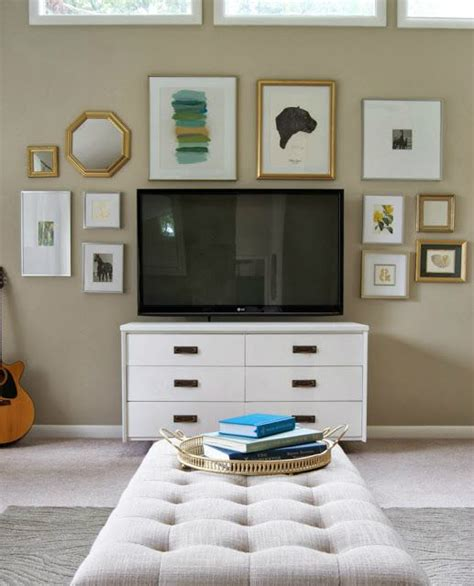 how to decorate around a 40 tv wall decor ideas decoholic
