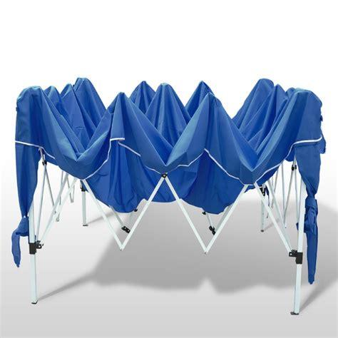 zelt 6 x 3 gartenpavillon partyzelt 3x3 m blau
