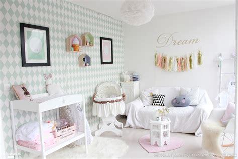 papier peint chambre bébé mixte la chambre scandinave et pastel de mon bébé mona j