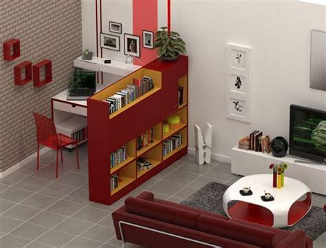 espace bureau dans salon coin bureau au salon comment le séparer efficacement