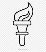 Torch Antorcha Coloring Colorear Dibujo Clipart Pinclipart Torcia Colorare Disegni Liberty Statue Drawing Draw Cartoon Netclipart Stampare Ultra sketch template