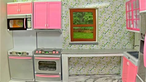 Diy doll kitchen ?How to make a kitchen for Barbie ?DIY