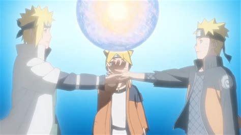 Boruto And Naruto's Giant Rasengan!!!