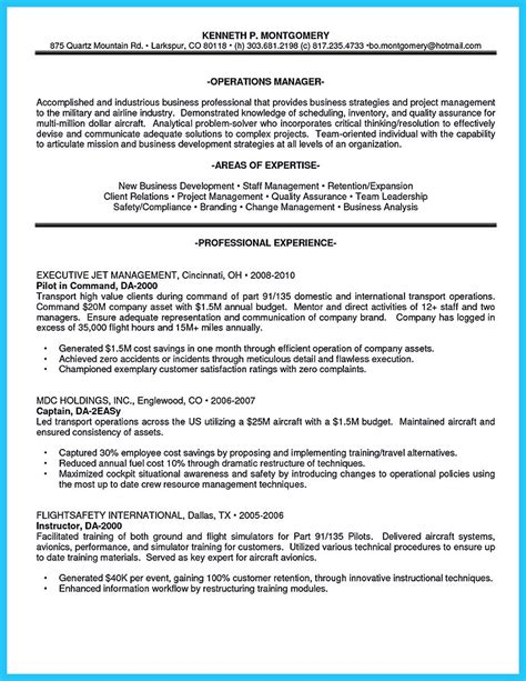learning  write  great aviation resume