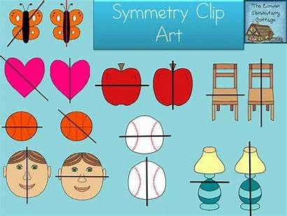 Clipart Symmetry Clip Symmetric Activities Elementary Exciting