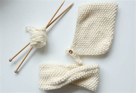 monter cuisine diy un snood tricoté au point de riz