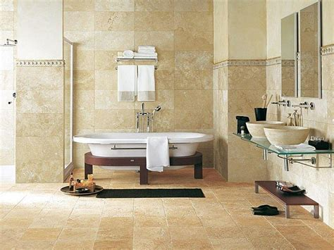 ideas for bathroom tiling 20 pictures and ideas of travertine tile designs for bathrooms