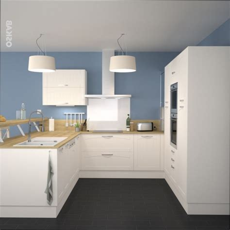 couleur mur cuisine cuisine bois quelle couleur mur pour cuisine blanche et bois