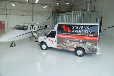 stevens aviation expands mobile aog  maintenance
