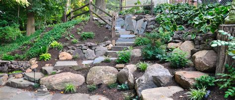 landscaping pa broomall retaining wall naturescapes