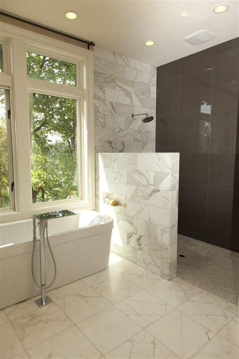 wall shower ideas  pinterest bathroom