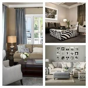 Deco Design Salon : d co salon gris et taupe pour un int rieur raffin ~ Farleysfitness.com Idées de Décoration