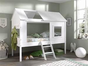 Roller Bett 90x200 : baumhaus bett charlotte wei 90x200 cm online bei roller kaufen ~ Watch28wear.com Haus und Dekorationen