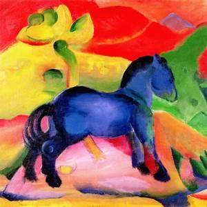 Das Kleine Blaue : franz marc blaue pferde online bestellen posterlounge ~ Lizthompson.info Haus und Dekorationen