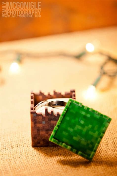 9 best about minecraft wedding ideas wedding ring box receptions and
