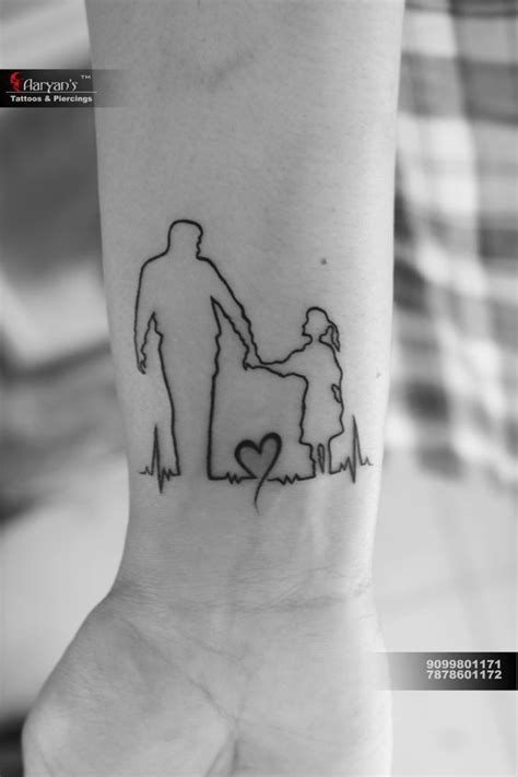 relation btw father and daughter best tattoo | Tattoos for