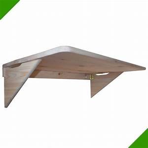 Table De Balcon Pliante : 85cmx50cm table murale pliante murale rabattable en bois table de balcon neuf tablettes ~ Teatrodelosmanantiales.com Idées de Décoration