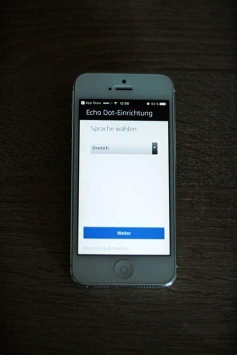 alexa einrichten mit der amazon echo app  echo