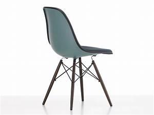 Eames Plastic Side Chair : buy the vitra upholstered dsw eames plastic side chair ocean at ~ Frokenaadalensverden.com Haus und Dekorationen