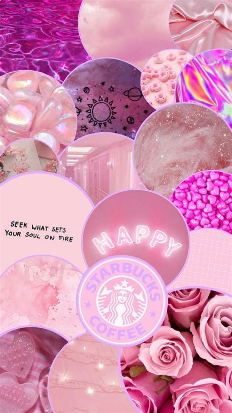 pink aesthetic wallpaper by cassrainbow