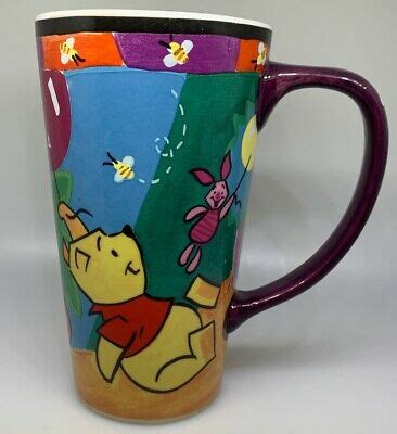 There are 774 winnie the pooh mug for sale on etsy, and they cost 20,27 $ on average. The Disney Store Winnie The Pooh Theme Large/Tall Coffee Mug Cup | eBay