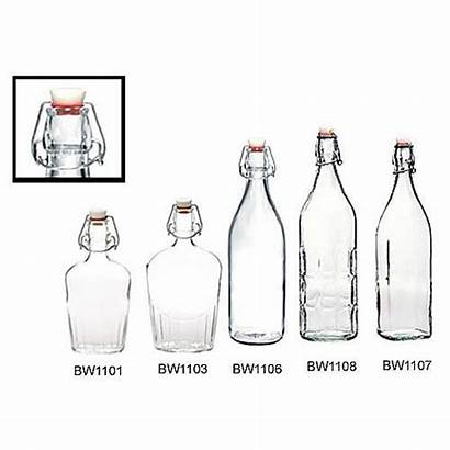 Swing Bottles Glass Bottle Oz Moresca Round