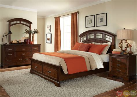 Parkwood Transitional Storage Bedroom Set 275brs