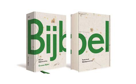 Nederlands Bijbelgenootschap Brengt Groene Bijbel Uit