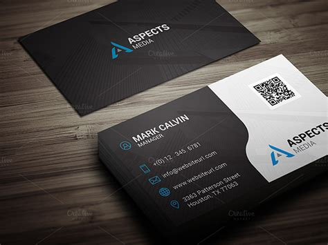 Best Visiting Card 39 Black Business Card Templates Word Ai Psd Free
