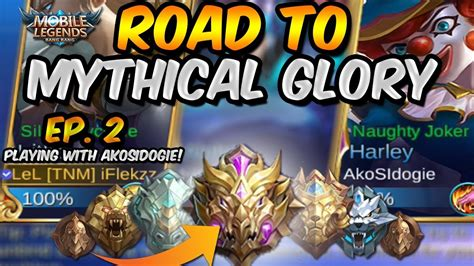 Boosting Akosi Dogie! Road To Mythical Glory #2!