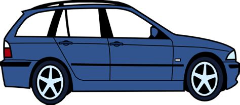 cartoon sports car side view bmw side view clip art at clker com vector clip art