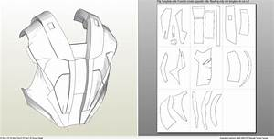 foamcraft pdo file template for iron man mark 4 6 With iron man suit template
