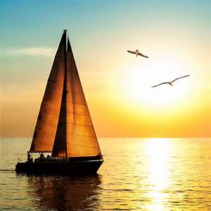 K L Wall Art : fototapete segelboot im sonnenuntergang tolle wanddeko f r zuhause von k l wall art wall ~ Buech-reservation.com Haus und Dekorationen