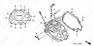 Honda Motorcycle 2009 Oem Parts Diagram For Right