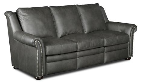Bradington Sofa Quality by Bradington Newman Transitional Power Reclining Sofa